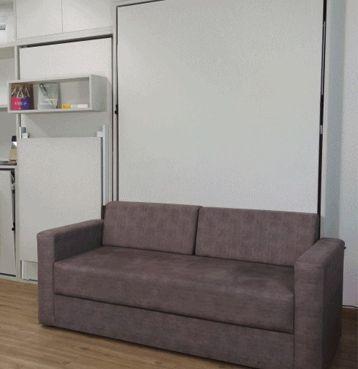 Sofá para Cama Retrátil Casal Vertical