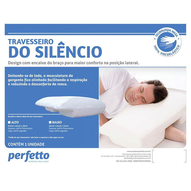 Travesseiro do silencio