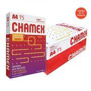 Caixa c/ 5 Pacotes Papel Sulfite Branco A4 Chamex Office PCT 500 Folhas