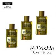 Combo 3 Óleo de Argan Oil Intensive Repair Triskle - 10ml (cada)