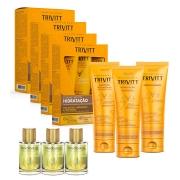 Combo Itallian Trivitt 4 Kit Home Care Hidratação