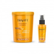 Trivitt Hidratacão Intensiva 1kg + Finalizador Power Oil 30ml