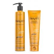Itallian Trivitt Cauterização + Shampoo Pós química 280ml