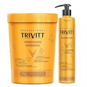 Itallian Trivitt Hidrataçao Intensiva 1kg + Cauterização 300ml