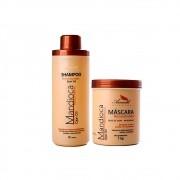 Kit Aramath Mandioca Shampoo + Hidratação Reconstrutora 1Kg