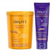 Kit Hidratação Trivitt 1Kg + Hidratação Blonde Matizante 250g