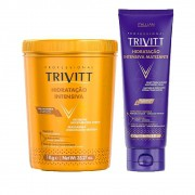 Kit Trivitt Hidratação 1Kg + Máscara Matizante 250g