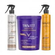 Kit Trivtt Hidratação Matizante + Fluido + Segredo Itallian
