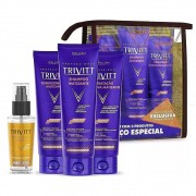 Kit Trivitt Home Care Matizante + Reparador de Pontas 30ml