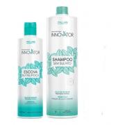 Kit Innovator Profissional Escova Nutrilipídica + Shampoo Sem Sulfato 1l