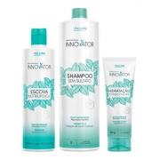 Kit Innovator Profissional Nutrilipídica 500ml + Shampoo 1l + Hidratação 250g