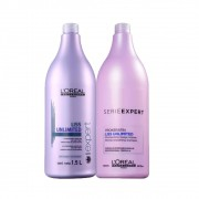 Kit L'oréal Shampoo + Condicionador Liss Unlimited