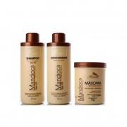 Kit Mandioca Aramath Shampoo + Condicionador + Máscara