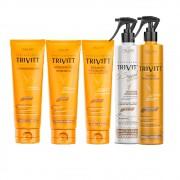 Kit Itallian Trivitt Manutenção Profissional (5 Itens)