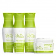 Kit Portier Caracoles Completo ( 4 Itens )