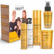 Kit Profissional Trivitt Hidratação Intensiva +  Power Oil