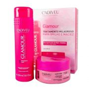 Kit Cadiveu Glamour Home Care  Shampoo e Máscara