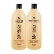 Kit Shampoo e Condicionador Aramath Restruturador Mandioca Ojon Oil 2L