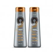 Kit Shampoo e Condicionador Mais Q Onda Crespas 350ml