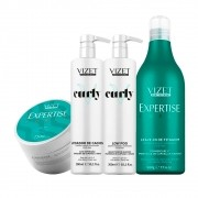 Kit Cachos Profissional Expertise Curly Vizet (4 ITENS)