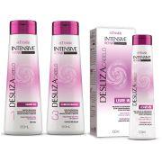 Kit Triskle Desliza Cabelo Shampoo e Condicionador + Leave in