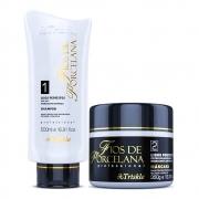 Kit Triskle Lisos Perfeitos Shampoo + Máscara 350g