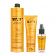 Kit Trivitt Profissional Reparação Intensiva (3 Itens)