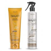 Kit Trivitt  Segredo Do Cabelereiro + Leave-in Hidratante