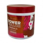 Máscara Tonalizante Marsala Power Color Tróia Hair 500g