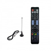 Mini Antena Tv Digital + Controle Remoto Para TV Universal