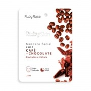 Máscara Facial Ruby Skin Café Chocolate Ruby Rose 25ml