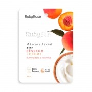Máscara Facial Ruby Skin Pessego Ruby Rose 25ml