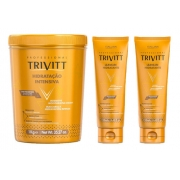 Trivitt Hidratação Intensiva 1kg + 2 Leave-in Hidratante 250ml