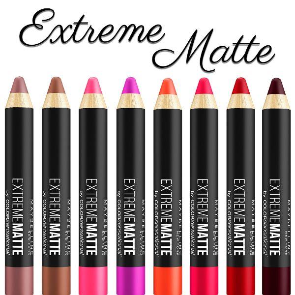 Batom Lápis Maybelline Color Sensational Extreme Matte