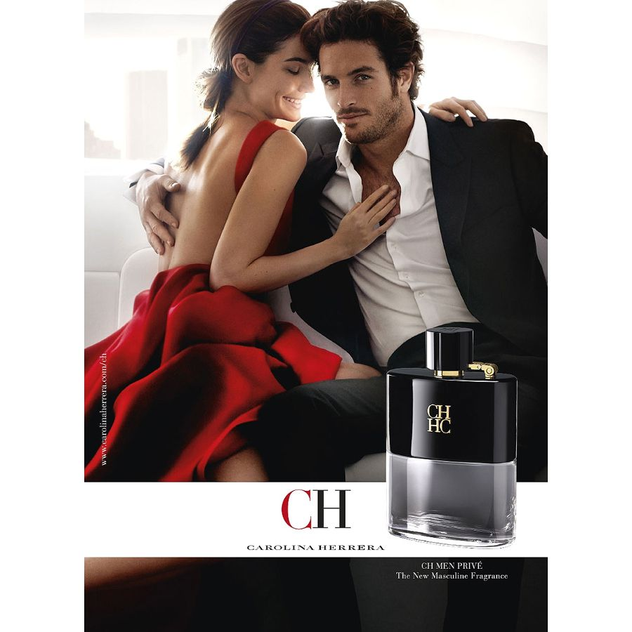 CH Men Privé Carolina Herrera Masculino 100ml