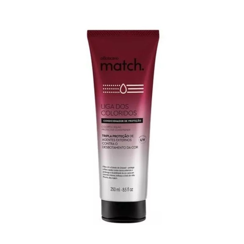 Condicionador Match Liga Dos Coloridos 250ml