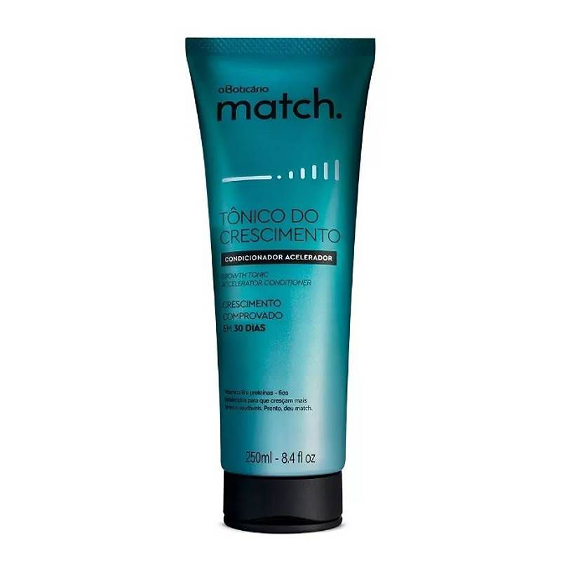 Condicionador Match Tônico do Crescimento 250ml