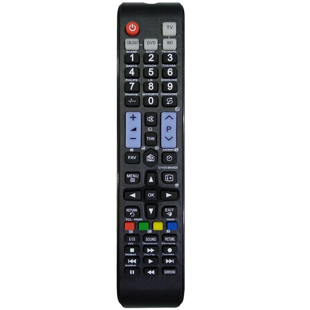 Controle Remoto Para Smart TV Universal Multimarcas