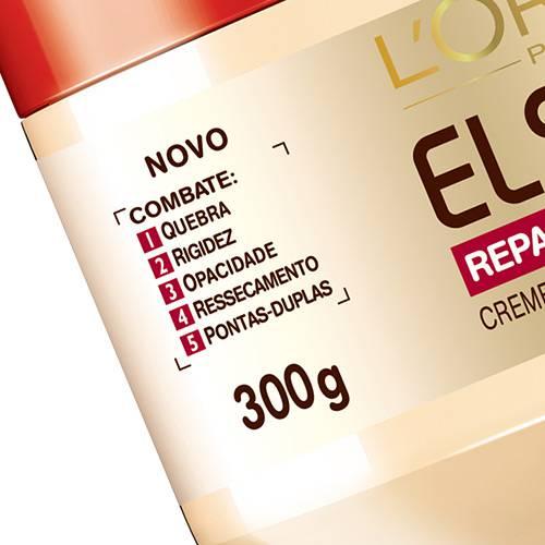Creme de Tratamento Reparação Total 5+ 300g - Elséve L'Oreal Paris