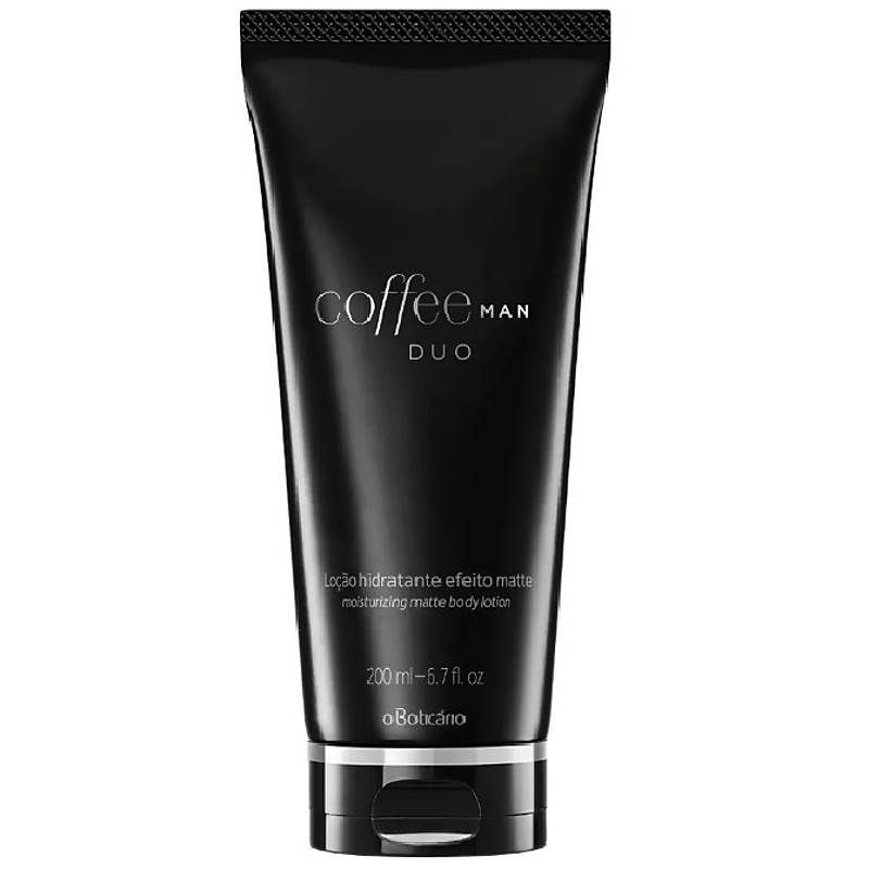 Creme Hidratante Corporal Coffee Matte Duo Man 200ml