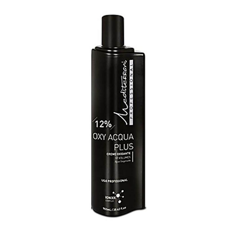 Creme Oxidante Oxy Acqua Plus 12% - 40 Volume Mediterrani 900ml