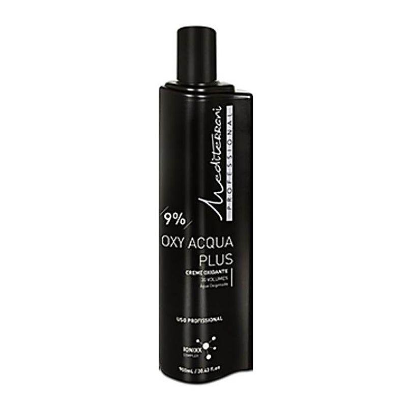 Creme Oxidante Oxy Acqua Plus 9% - 30 Volume Mediterrani 900ml