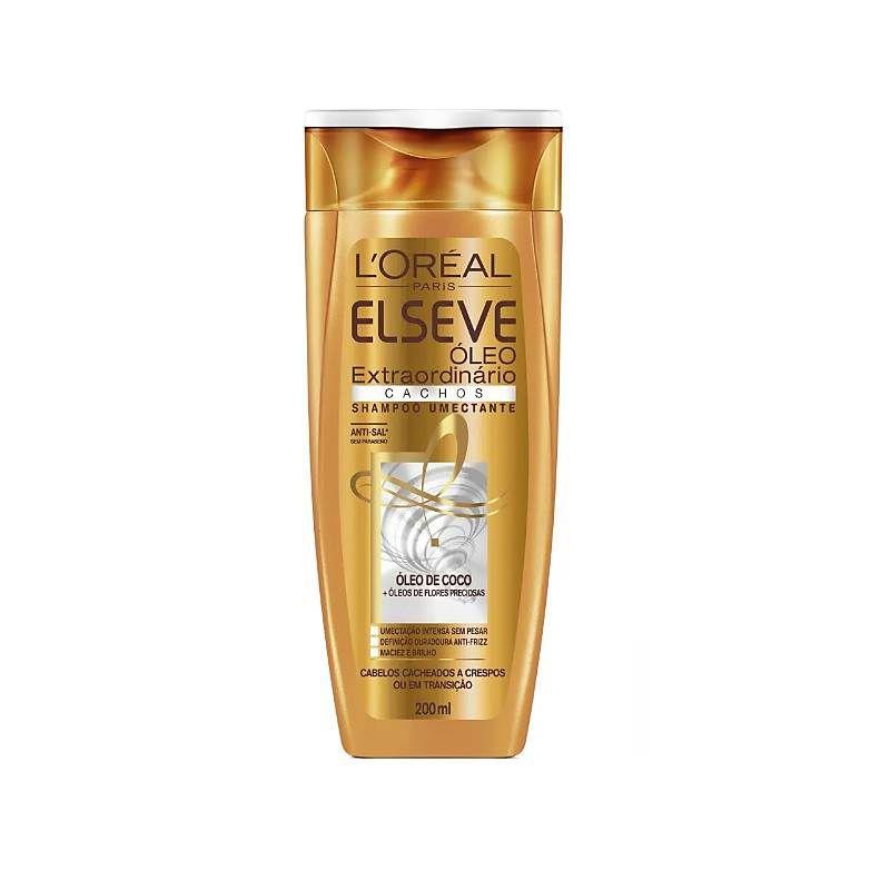 Elseve Óleo Extraordinário Cachos Shampoo 200Ml