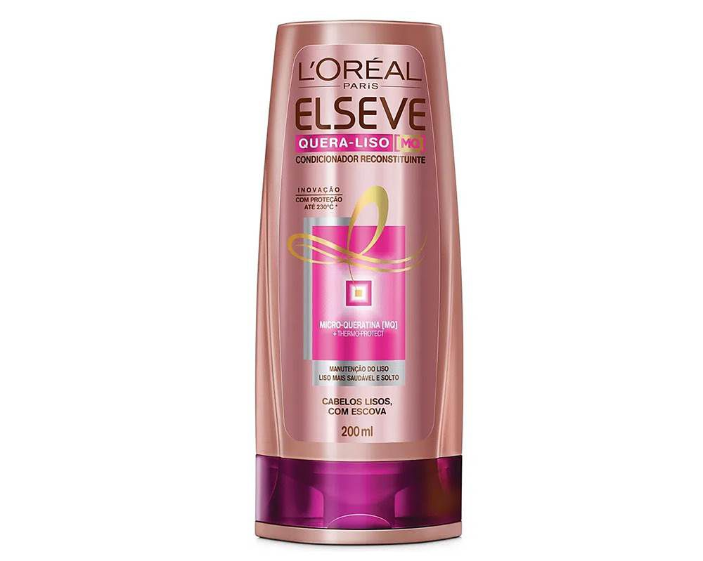 Elseve Quera-Liso Mq 230°C - Shampoo - 200ml