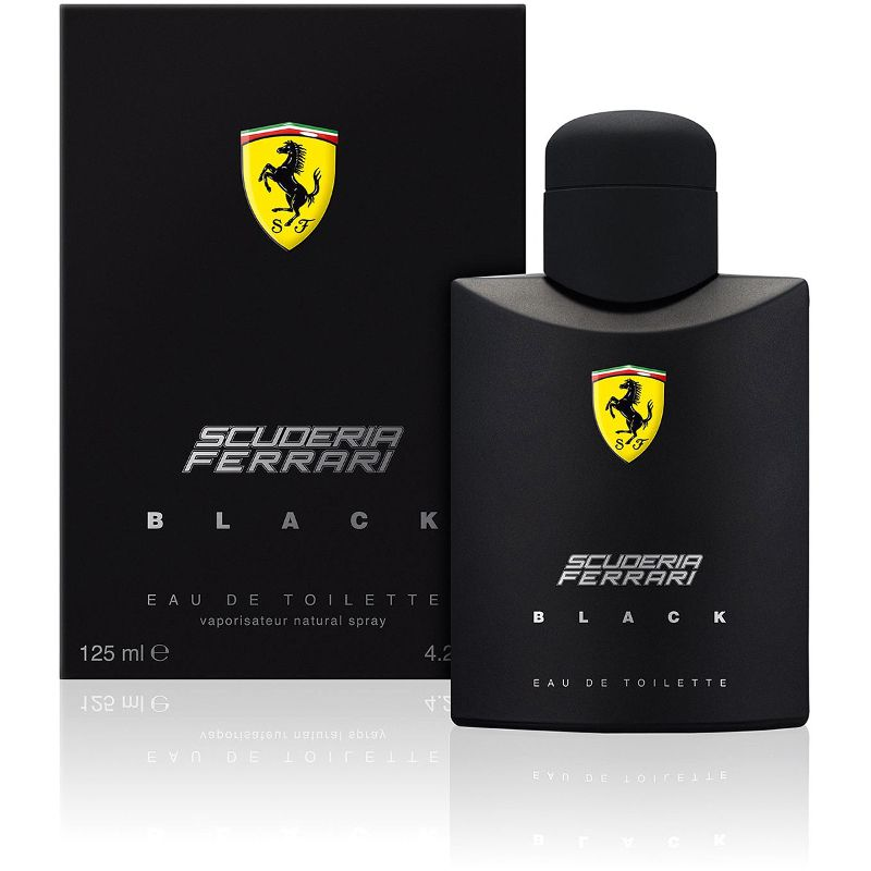 Scuderia Ferrari Black Edt Masculino 125ml