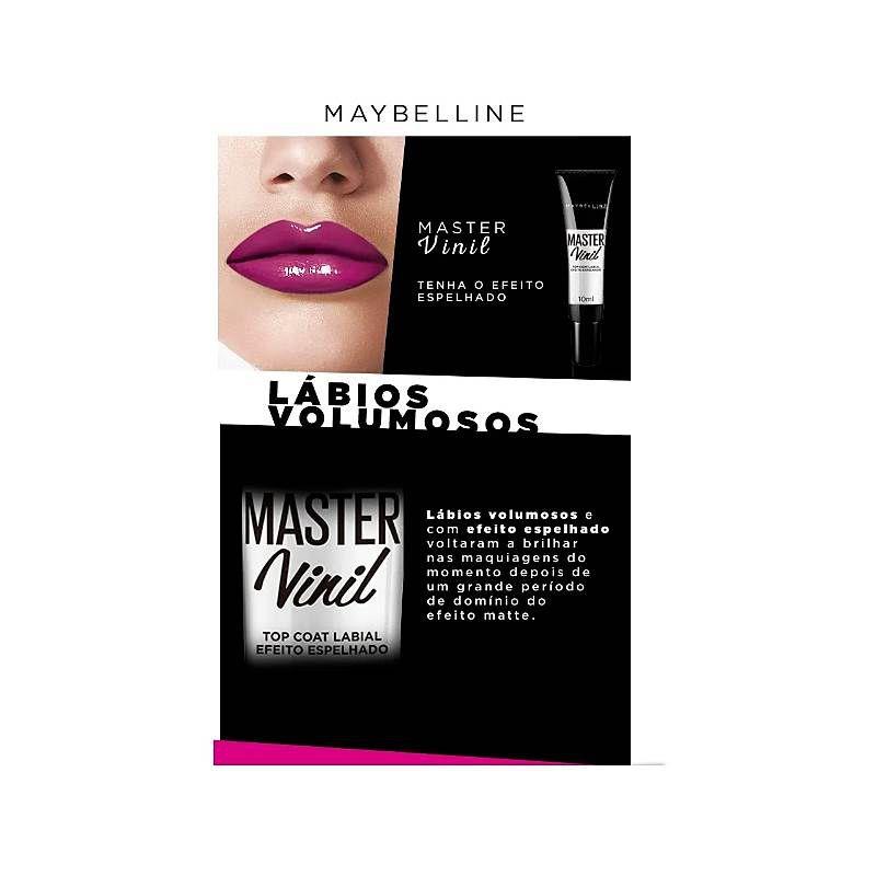 Gloss Maybelline Master Vinil Top Coat 10ml
