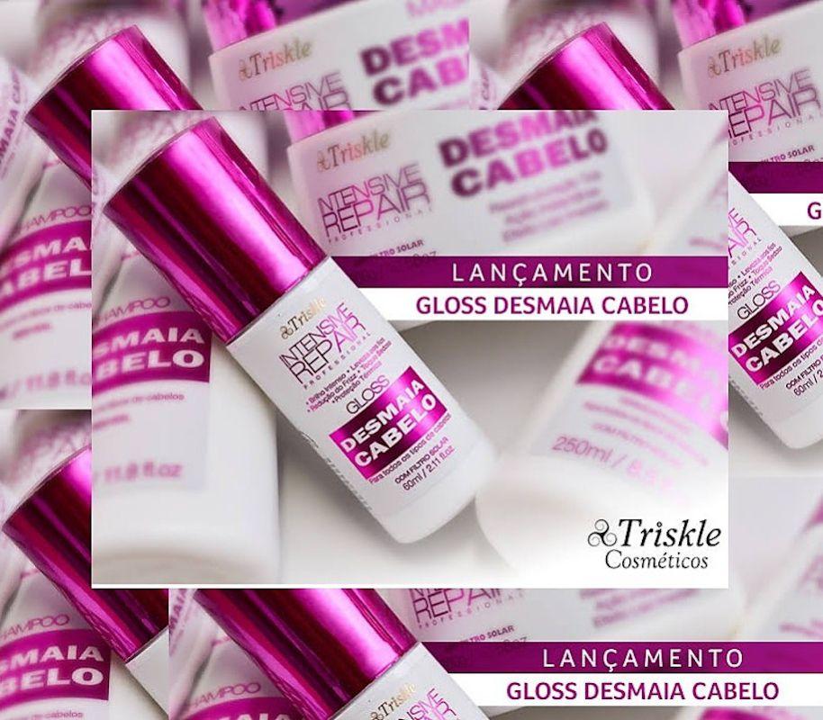 Gloss Capilar Desliza Cabelos Triskle  60ml
