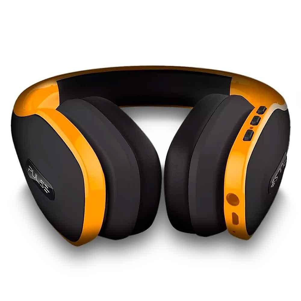 Headphone Over-Ear Stereo Áudio Pulse Amarelo - PH148
