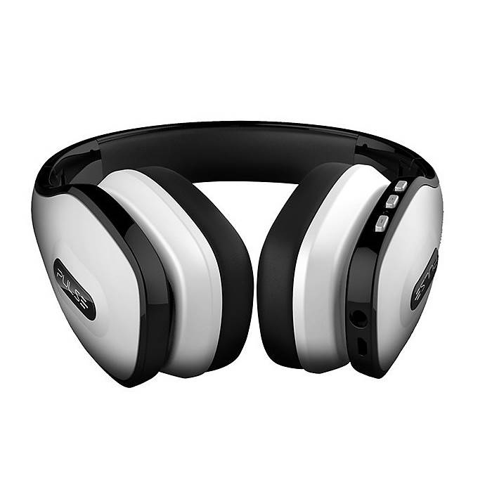 Headphone Over-Ear Stereo Áudio Pulse Branco - PH149