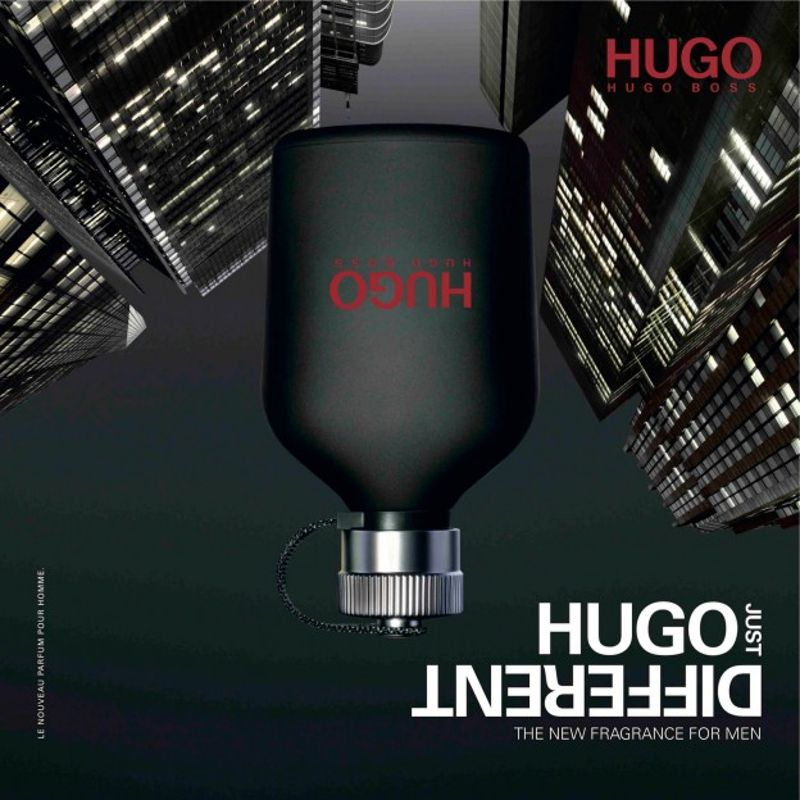 Hugo Just Different Hugo Boss Edt Masculino 125ml